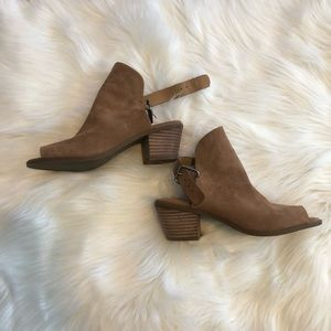 Lucky Brand - Brown Low Ankle booties